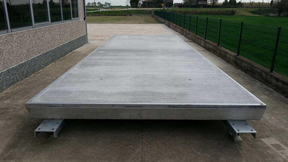 Pese a ponte in cemento - Bottaro Bilance